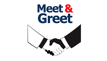 <br><center><strong>Meet and greet</strong></center>