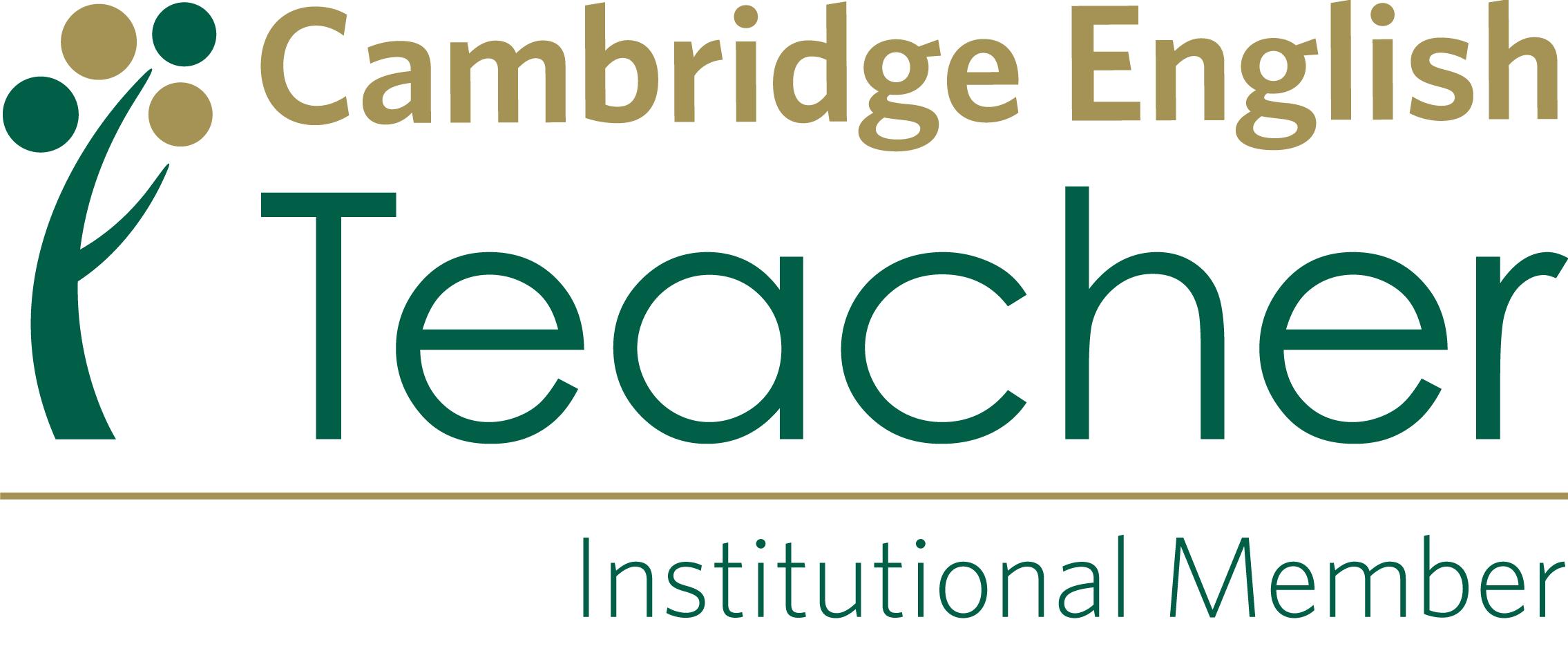 Cambridge English Teacher Institutional Member